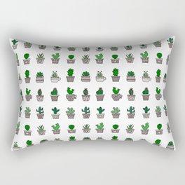 Cactus Pattern 2 Rectangular Pillow