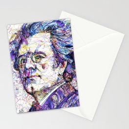 GUSTAV MAHLER portrait.5 Stationery Cards
