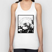 moby dick Tank Tops featuring Moby Dick by JoJo Seames