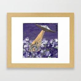 Abduction of the Delighted Lamb Framed Art Print