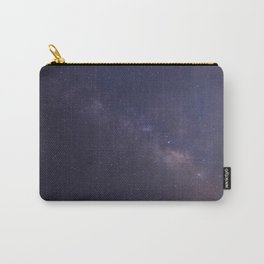 Purple Star Galaxy Carry-All Pouch