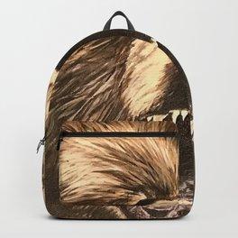 A Ferocious Soul (Original Acrylic Painting) Backpack