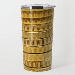 Euro photographed close up Travel Mug
