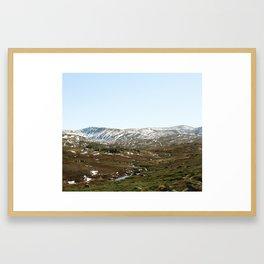 View across Kosciuszko National Park Framed Art Print