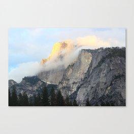 Golden Peak Canvas Print