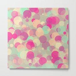 Colorful Bubbles 2 Metal Print