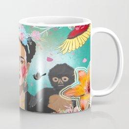 Frida Mural Painting Coffee Mug