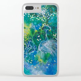 Moondance Clear iPhone Case