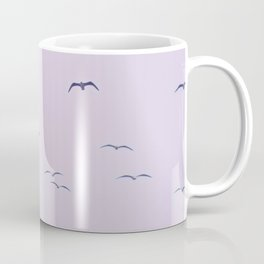 Seagulls & Moon by Murray Bolesta Coffee Mug
