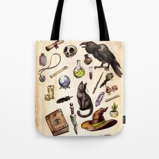 Witching Essentials Tote Bag