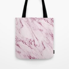 Pink Marble Texture - Mauve Pink Marble Tote Bag