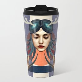 Antelope Girl Travel Mug