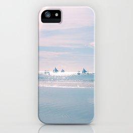 White Beach Boracay iPhone Case