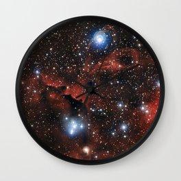 Seagull Nebula (IC 2177) Wall Clock