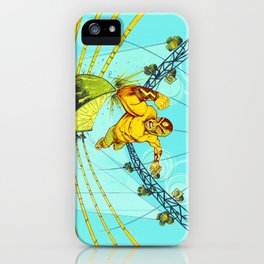 Luchador Lime iPhone Case