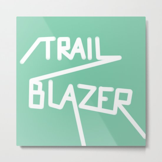 Trailblazer Metal Print