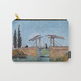 Vincent Van Gogh - The Langlois Bridge at Arles Carry-All Pouch