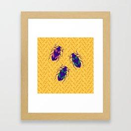 Pyrodes Auratus Framed Art Print