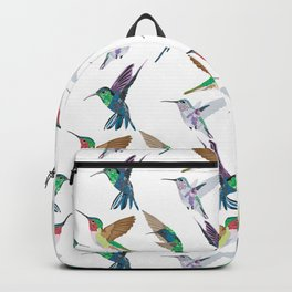 Hummingbirds in Flight Backpack