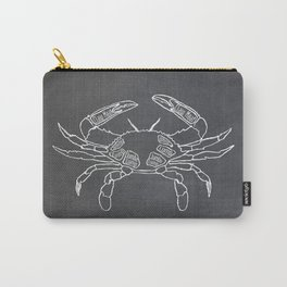 Crab Butcher Diagram (Seafood Meat Chart) Carry-All Pouch