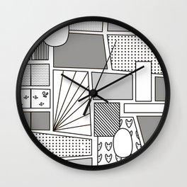 Comix Wall Clock