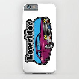 Lowrider Car iPhone Case