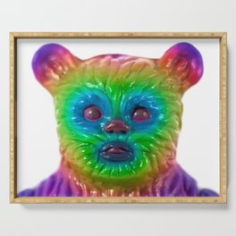 Neon Bear Serving Tray