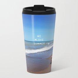 We #LOVE Summer - Sarnia, ON, Canada Travel Mug