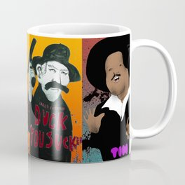 Pop mix of the some of the greats pop culture memories.  Coffee Mug