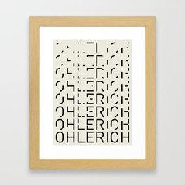 Ohlerich Speicher Transformation Framed Art Print