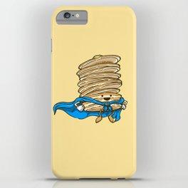 Captain Pancake Descends iPhone Case