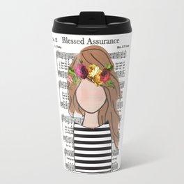 Bronde Blessed Assurance Travel Mug