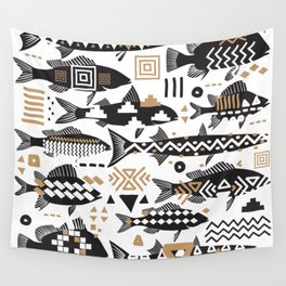 Boho Fishes Wall Tapestry