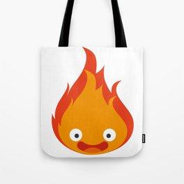 Calcifer Tote Bag