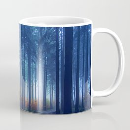 paths in the pine forest Coffee Mug
