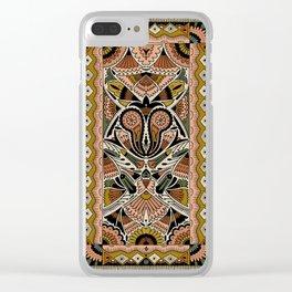 Botanical Print III Clear iPhone Case