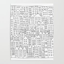 Coit City Pattern 1 Poster