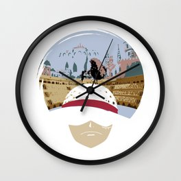 Luffy VS Doflamingo Wall Clock