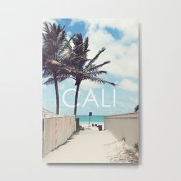 California  Metal Print
