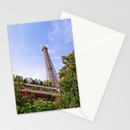 Springtime Eiffel Tower Stationery Cards
