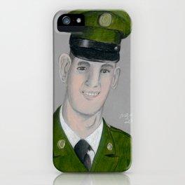Army Portrait iPhone Case