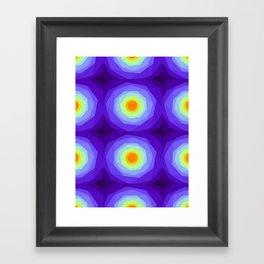 Purple Blossoms Framed Art Print