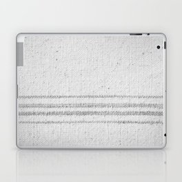 VINTAGE FARMHOUSE GRAIN SACK Laptop & iPad Skin
