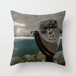 Lake Placid Vista Throw Pillow