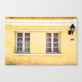 Casa Amarela - Ribeirão da Ilha - Florianópolis Canvas Print