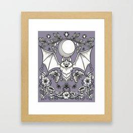 A Bat's Favorite Things Framed Art Print
