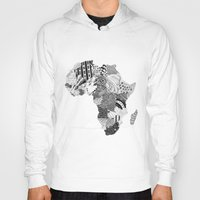 south africa Hoodies featuring Africa by Kacenka