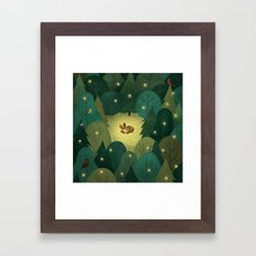 Enchanted Forest Baby Framed Art Print