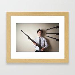 Gunner Framed Art Print