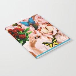 Butterflies & Roses Notebook
